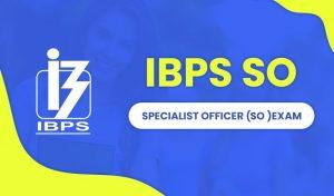 IBPS SO Score Card 2021
