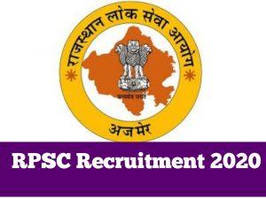 RPSC Yoga and Prakritik Chiktsa Adhikari Admit Card 2021