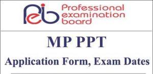 MP PPT 2020 Fee Refund Online Form