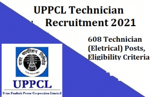 UPPCL Technician Electrical Admit Card