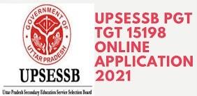UPSESSB UP PGT Exam Date 2021