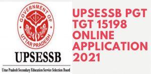 UPSESSB UP TGT Recruitment 2021 Exam Date