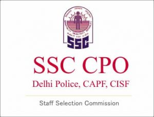 SSC CPO SI 2018 Final Result with Marks