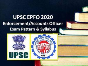 UPSC EPFO Exam Date 2021