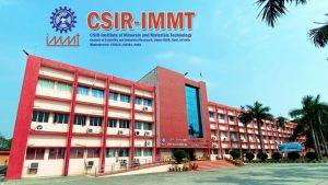 CSIR IMMT 10+2 Post Online Form 2021
