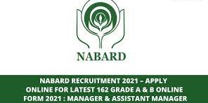Nabard Grade A and B Online Form 2021
