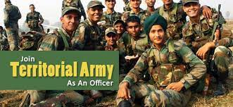 Territorial Army Officer Online Form 2021